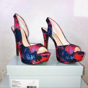 Jessica Simpson Sabella Platform Heels